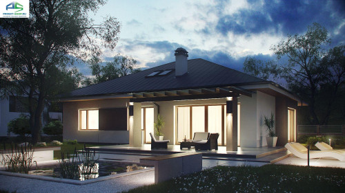 Типовой проект жилого дома z158
