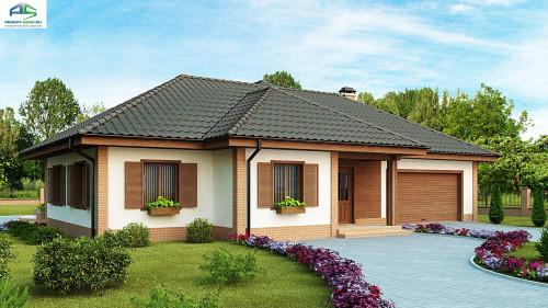 Проект одноэтажного дома z17