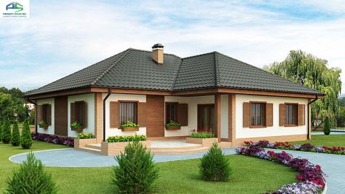 Типовой проект жилого дома Z17