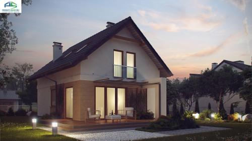 Типовой проект жилого дома z177