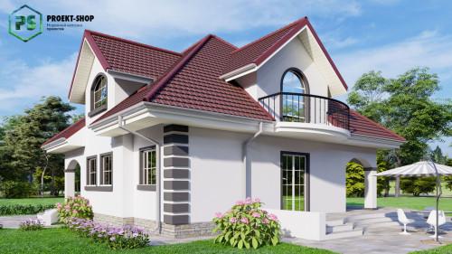 Типовой проект жилого дома Z18