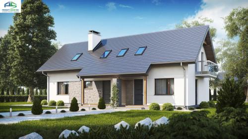 Типовой проект жилого дома z184