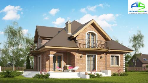 Типовой проект жилого дома z18k