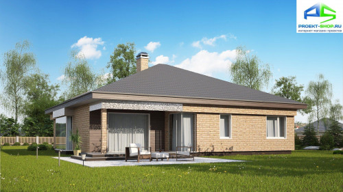 Типовой проект жилого дома z200k