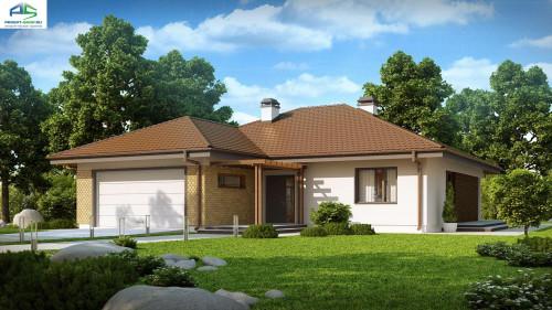 Типовой проект жилого дома z203