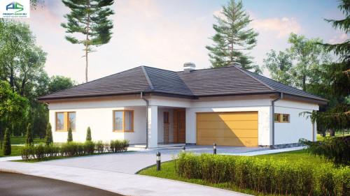 Типовой проект жилого дома z204