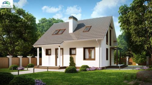 Типовой проект жилого дома z212
