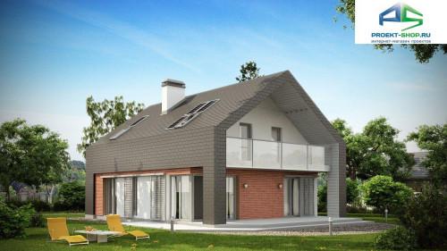 Типовой проект жилого дома z215