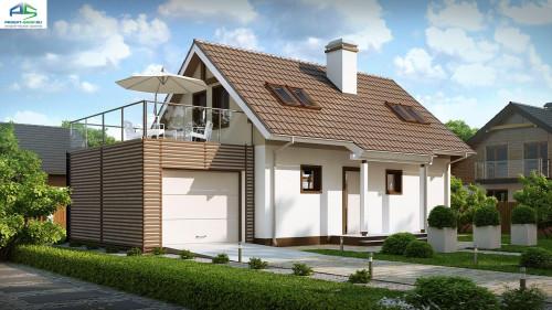 Типовой проект жилого дома z220