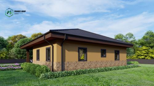 Типовой проект жилого дома Z24