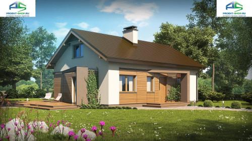 Типовой проект жилого дома z255a