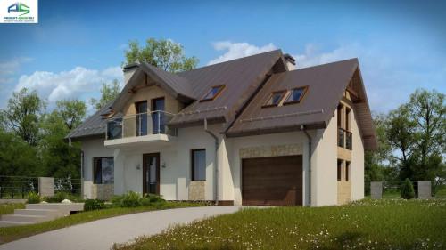 Типовой проект жилого дома z263