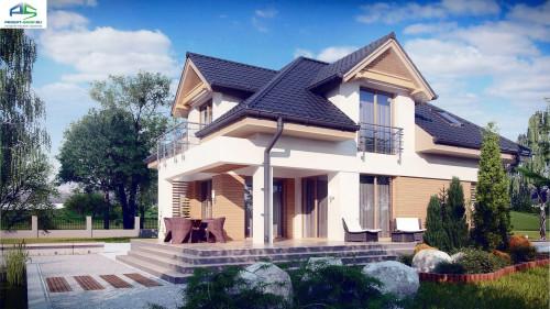 Типовой проект жилого дома z284