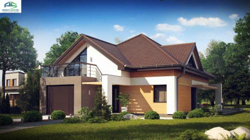 Типовой проект жилого дома z288