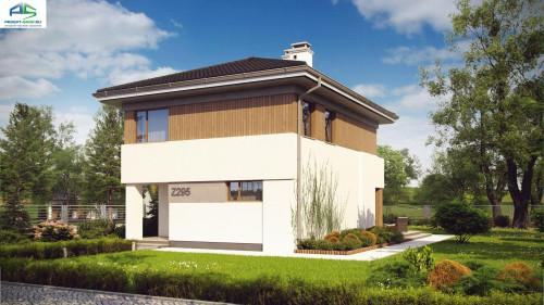 Типовой проект жилого дома z295