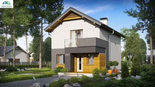 Типовой проект жилого дома z297
