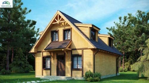 Каркасный вариант проекта жилого дома Z30