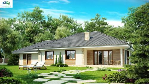 Типовой проект жилого дома Z35