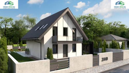 Типовой проект жилого дома z440