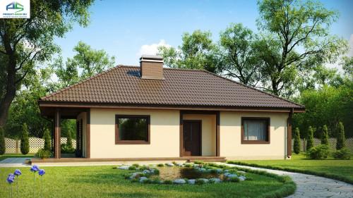 Типовой проект жилого дома Z55