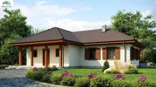 Типовой проект жилого дома z6