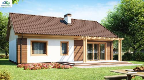 Типовой проект жилого дома Z61