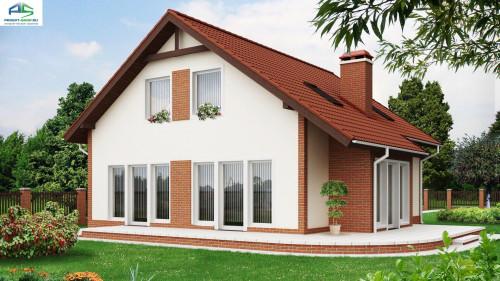 Типовой проект жилого дома Z63