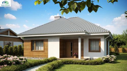 Типовой проект жилого дома Z64