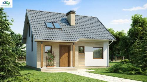 Типовой проект жилого дома Z71