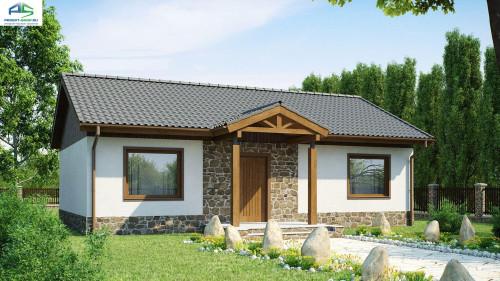 Типовой проект жилого дома Z72