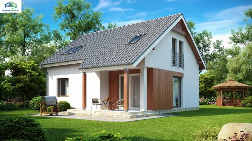 Типовой проект жилого дома Z75