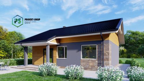 Типовой проект жилого дома Z78