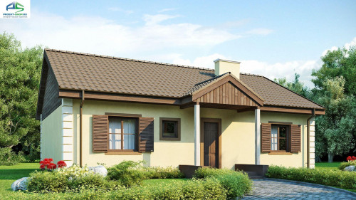 Проект одноэтажного дома z8