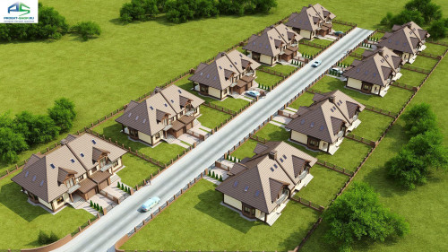 Типовой проект жилого дома Zb1