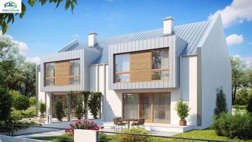 Типовой проект жилого дома zb5v2