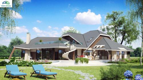 Типовой проект жилого дома Zr5