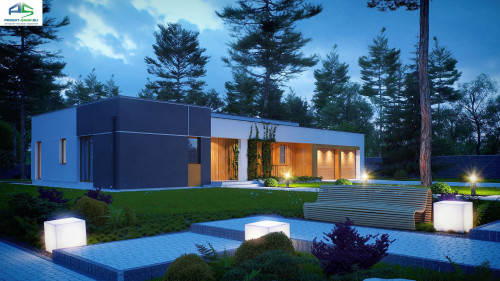 Типовой проект жилого дома zx102