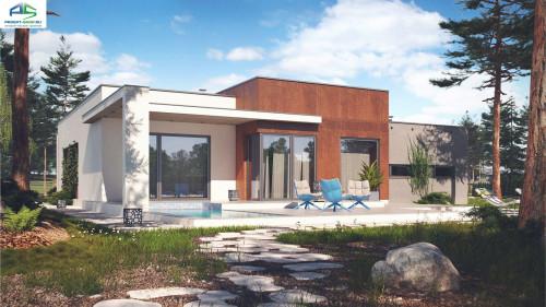 Типовой проект жилого дома zx104