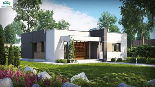 Типовой проект жилого дома zx105