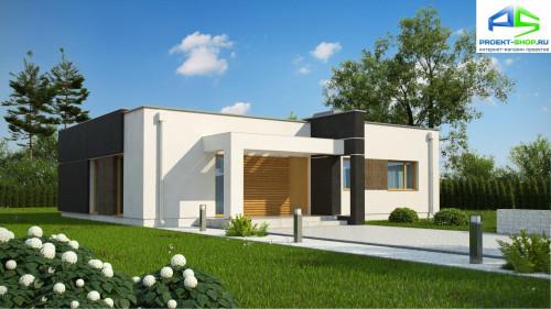 Типовой проект жилого дома zx105b