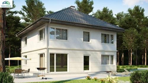Типовой проект жилого дома zx10v4