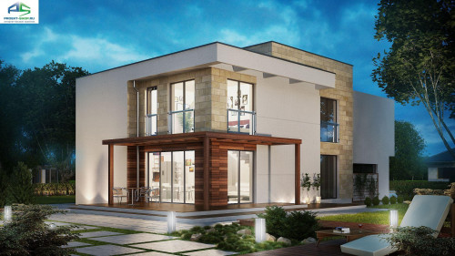 Типовой проект жилого дома zx114