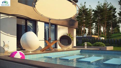 Типовой проект жилого дома zx134