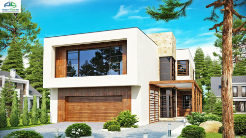 Типовой проект жилого дома Zx14