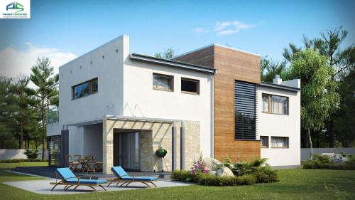 Типовой проект жилого дома Zx15
