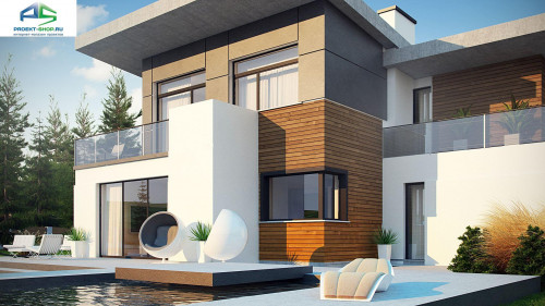 Типовой проект жилого дома zx182