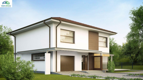 Типовой проект жилого дома ZX2