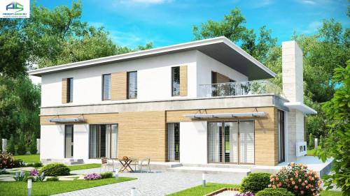 Типовой проект жилого дома Zx21