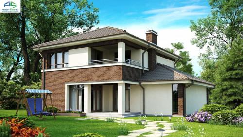Типовой проект жилого дома zx24v3