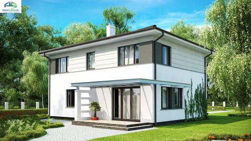 Типовой проект жилого дома zx26